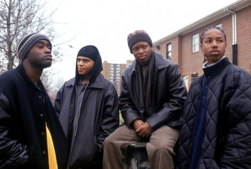 D'Angelo forever! In other news, I am also a little in love with Michael B. Jordan (far right).