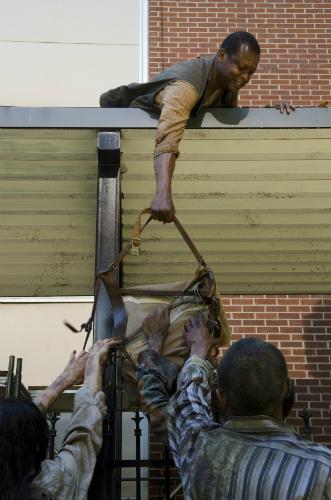 Bob Stookey in The Walking Dead