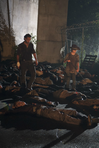 Walking Dead Rick and Carl