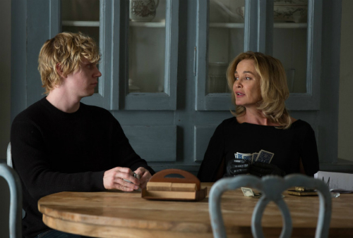 Kyle and Fiona in American Horror Story: Coven