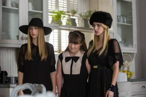 Zoe, Nan, and Madison in American Horror Story: Coven