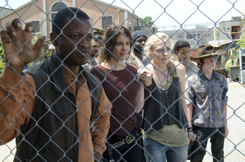 Rick's crew The Walking Dead