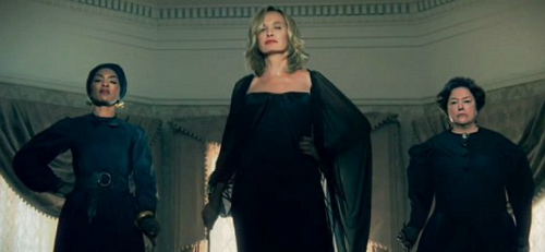 Angela Bassett, Jessica Langue, and Kathy Bates in American Horror Story: Coven