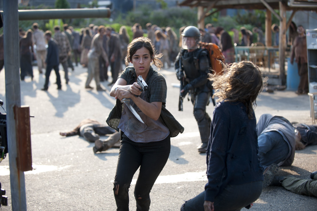 Into the fray. Photo credit Gene Page/AMC.