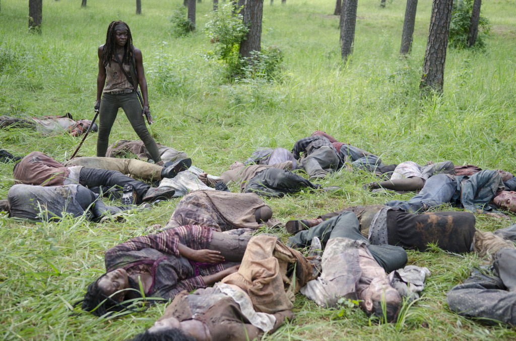 A return to form. Photo credit Gene Page/AMC.