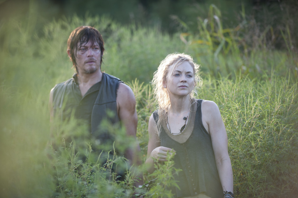 Beth and Daryl: hardasses extraordinaire. Photo credit Gene Page/AMC.