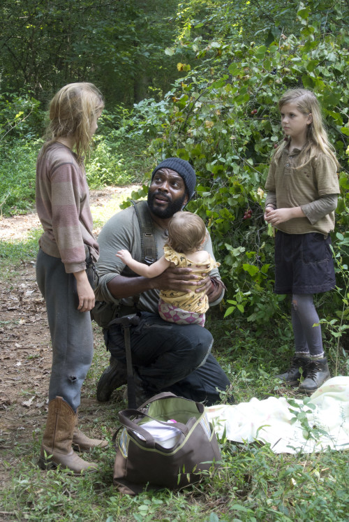 Told you Judith was still with us. Photo credit Gene Page/AMC.