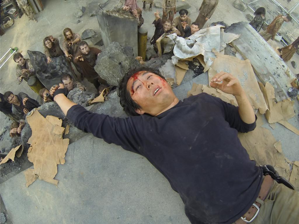 Glenn is not doing so hot. Photo credit Gene Page/AMC.