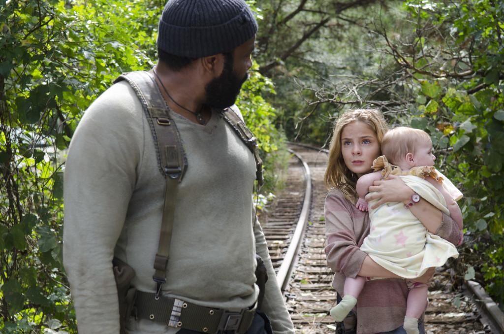 Tyreese, Lizzie, Judith Walking Dead
