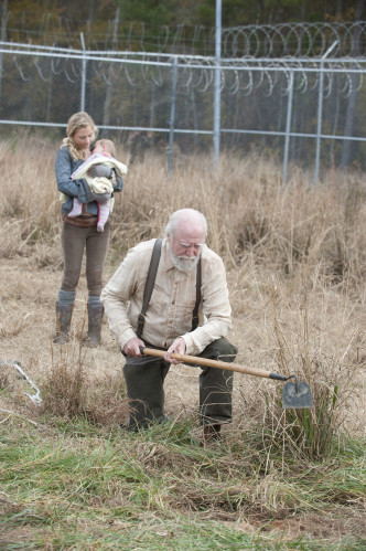 Hershel and Beth Walking Dead