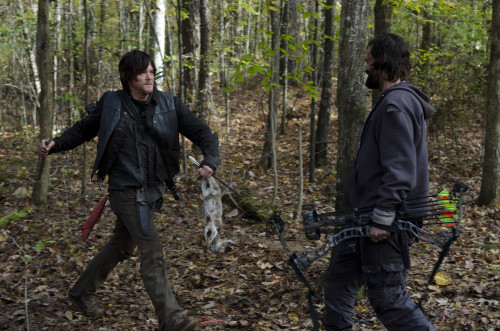 Daryl and Len Walking Dead