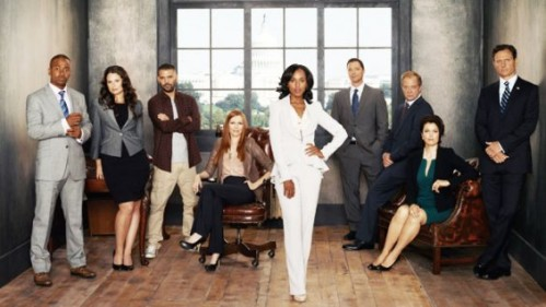 Scandal (ABC) Cast Shot